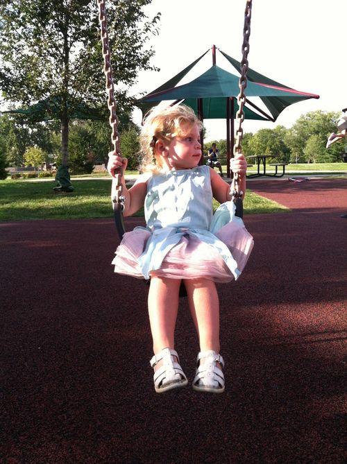 Lena on Swing